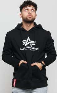 Alpha Industries Basic Hoody černá