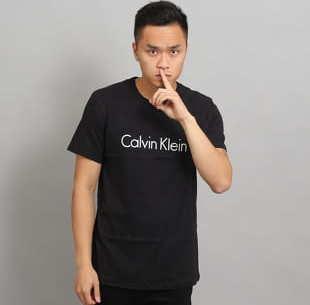 Calvin Klein Crew Neck C/O černé