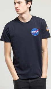 Alpha Industries Space Shuttle Tee navy