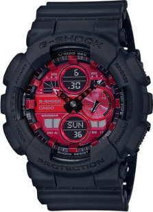 "Casio G-Shock GA 140AR-1AER ""Adrenalin Red Series"" černá / červená"