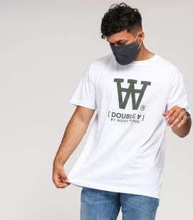 WOOD WOOD Ace T-shirt II. bílé