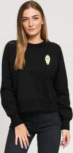 WOOD WOOD Hope Sweatshirt černá