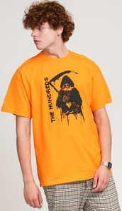 The Hundreds Hood T-Shirt oranžové