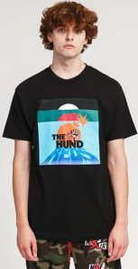 The Hundreds Days T-Shirt černé