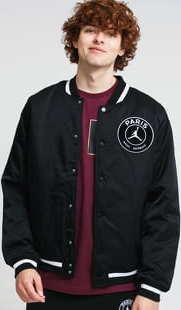 Jordan M J PSG Varsity Jacket černá