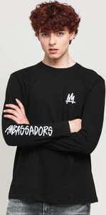 Ambassadors Longsleeve Right černé