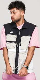 Nike M NRG ACG Vest černá / bílá / béžová