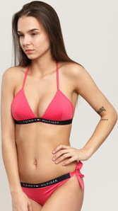 Tommy Hilfiger Cheeky Side Tie Bikini - Slip tmavě růžové
