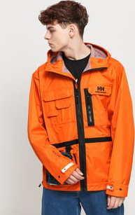 Helly Hansen Heritage Rain Jacket oranžová / černá