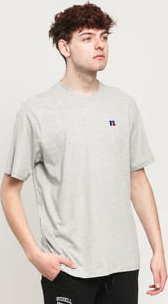 RUSSELL ATHLETIC Baseliner T-Shirt melange šedé