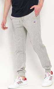 RUSSELL ATHLETIC Emi Cuffed Jogger Sweatpants melange šedé