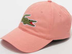 LACOSTE Large Logo Cap lososová