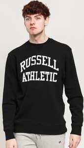 RUSSELL ATHLETIC Arch Logo Crew černá