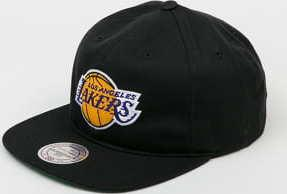 Mitchell & Ness Team Logo Deadstock Throwback Snapback LA Lakers