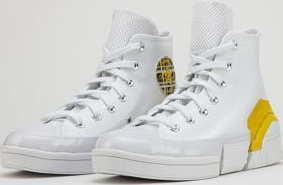 Converse CPX70 Hi white / speed yellow / black