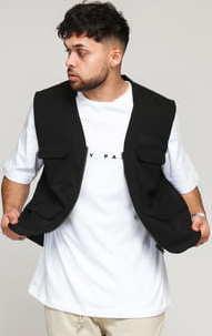 Daily Paper Recargo Vest černá