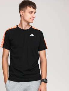 Kappa Banda Coen Slim černé / neon oranžové