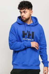 Helly Hansen HH Logo Hoodie modrá