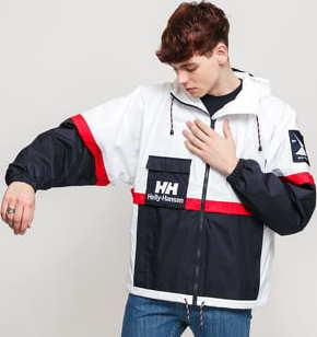 Helly Hansen YU20 Rain Jacket bílá / černá
