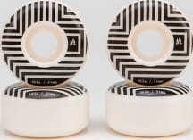 Ambassadors Wheels 103A bílé / černé 53mm
