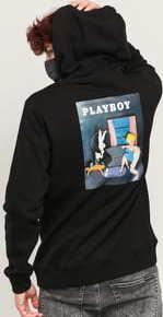 Soulland Playboy June Hoodie černá