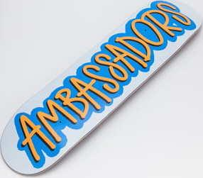 Ambassadors Fresh Blue 2020 Medium Concave 7.875
