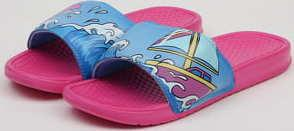 Pink Dolphin Portrait Slide pink