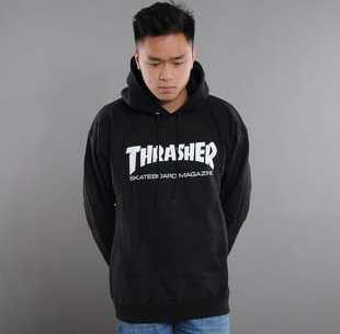 Thrasher Skate Mag Hoody černá