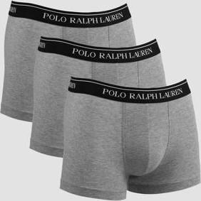 Polo Ralph Lauren 3 Pack Classic Trunks C/O melange šedé