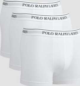 Polo Ralph Lauren 3 Packs Classic Trunks C/O bílé