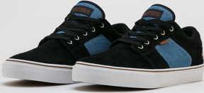 etnies Barge LS black / blue / black