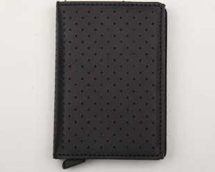 SECRID Slimwallet Perforated černá
