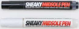 SNEAKY 2Pack Midsole Pen bílý / černý