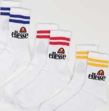 ellesse Pullo 3Pack Socks bílé
