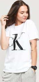 Calvin Klein CK ONE SS Crew Neck Tee C/O bílé