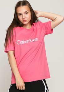 Calvin Klein SS Crew Neck růžové