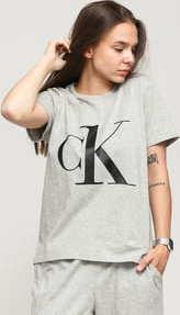 Calvin Klein CK ONE SS Crew Neck Tee C/O melange šedé