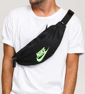 Nike NK Heritage Hip Pack černá