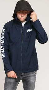Helly Hansen Active Hooded Midlayer Jacket navy