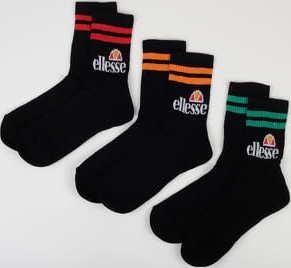 ellesse Pullo 3Pack Socks černé