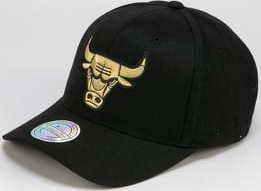 Mitchell & Ness NBA Bullion Snapback Chicago Bulls černá