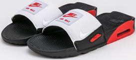 Nike Air Max 90 Slide black / white - chile red