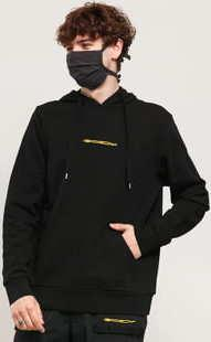 Oakley Golfing Stretch Logo Hoodie černá