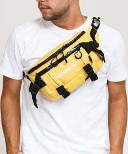 adidas Originals Advenrure Waistbag L žlutá / černá