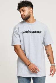 The Hundreds Forever Bar Logo T-Shirt melange šedé