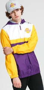 Mitchell & Ness Margin Of Victory Windbreaker LA Lakers