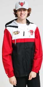 Mitchell & Ness Margin Of Victory Windbreaker Chicago Bulls