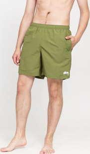 Stüssy Stock Water Short olivové