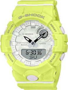 Casio G-Shock GMA B800-9AER neon zelené