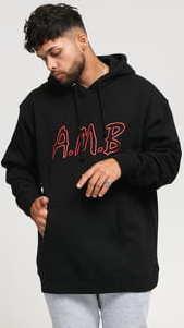Ambassadors Neon Hood černá
